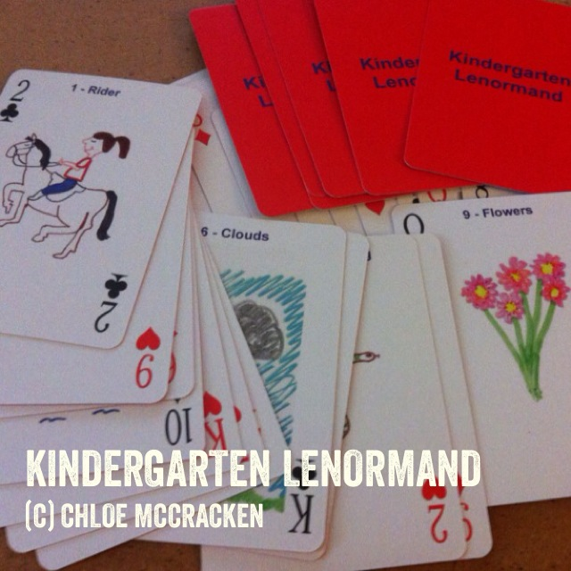 petit lenormand, lenormand, kindergarten, oracle