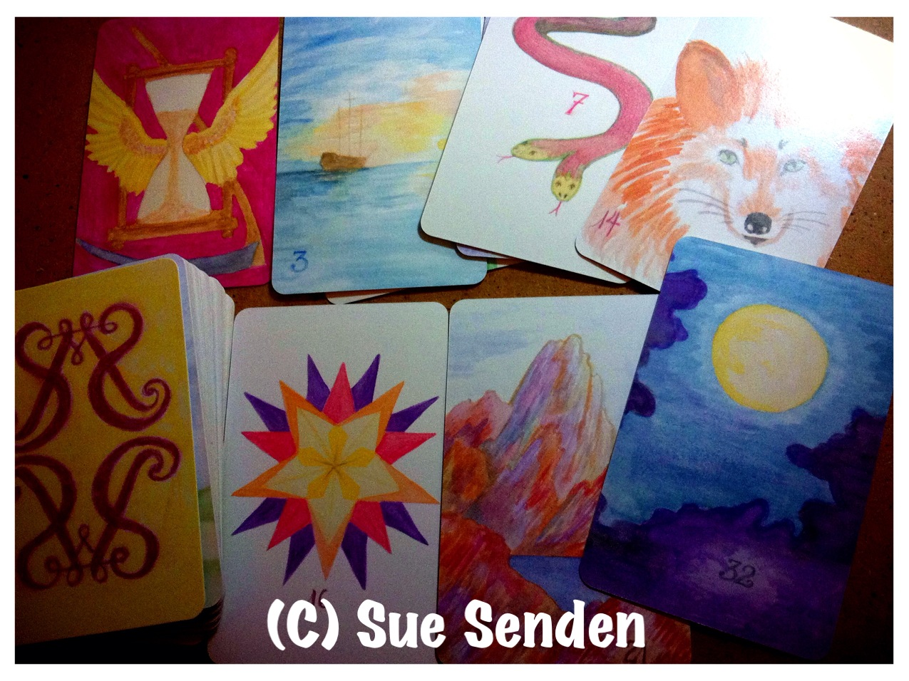 watercolor lenormand