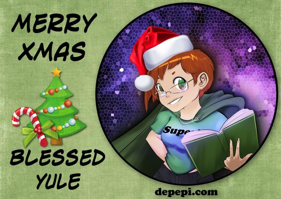 merry xmas, blessed yule, depepi, depepi.com
