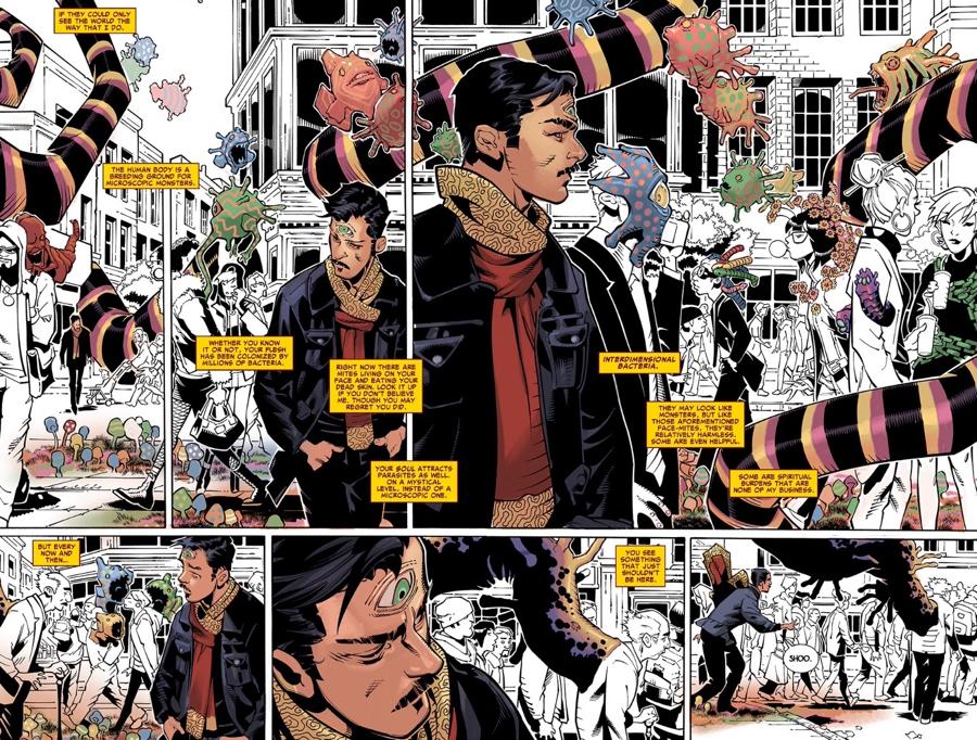 Au77 Doctor Strange Hero Illustration Art: Comics THORsday: Doctor Strange, The Way Of The Weird